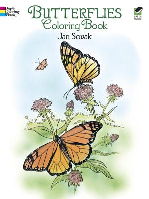 Butterflies Coloring Book By Sovak, Jan
